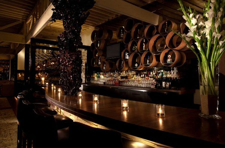 Sophisticated And Elegant Bar Interior Design Of Red O Restaurant Classy Bar Interiors Design