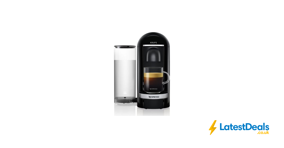 NESPRESSO by Krups VertuoPlus Coffee Machine Free Delivery
