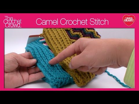Learn how to crochet the Camel Stitch. It\'s an easy stitch that ...