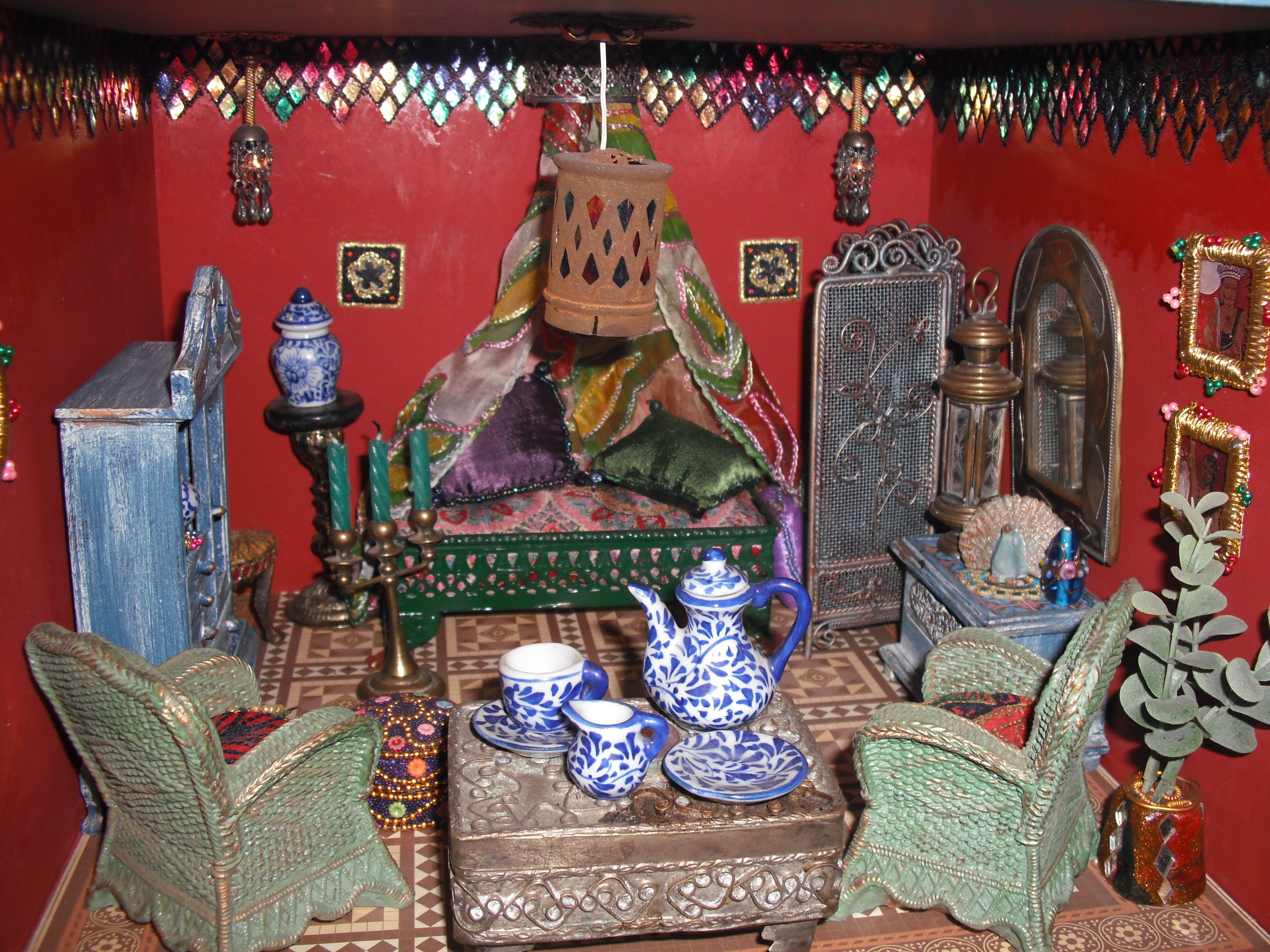 Bedroom Of The Indian Dolls House