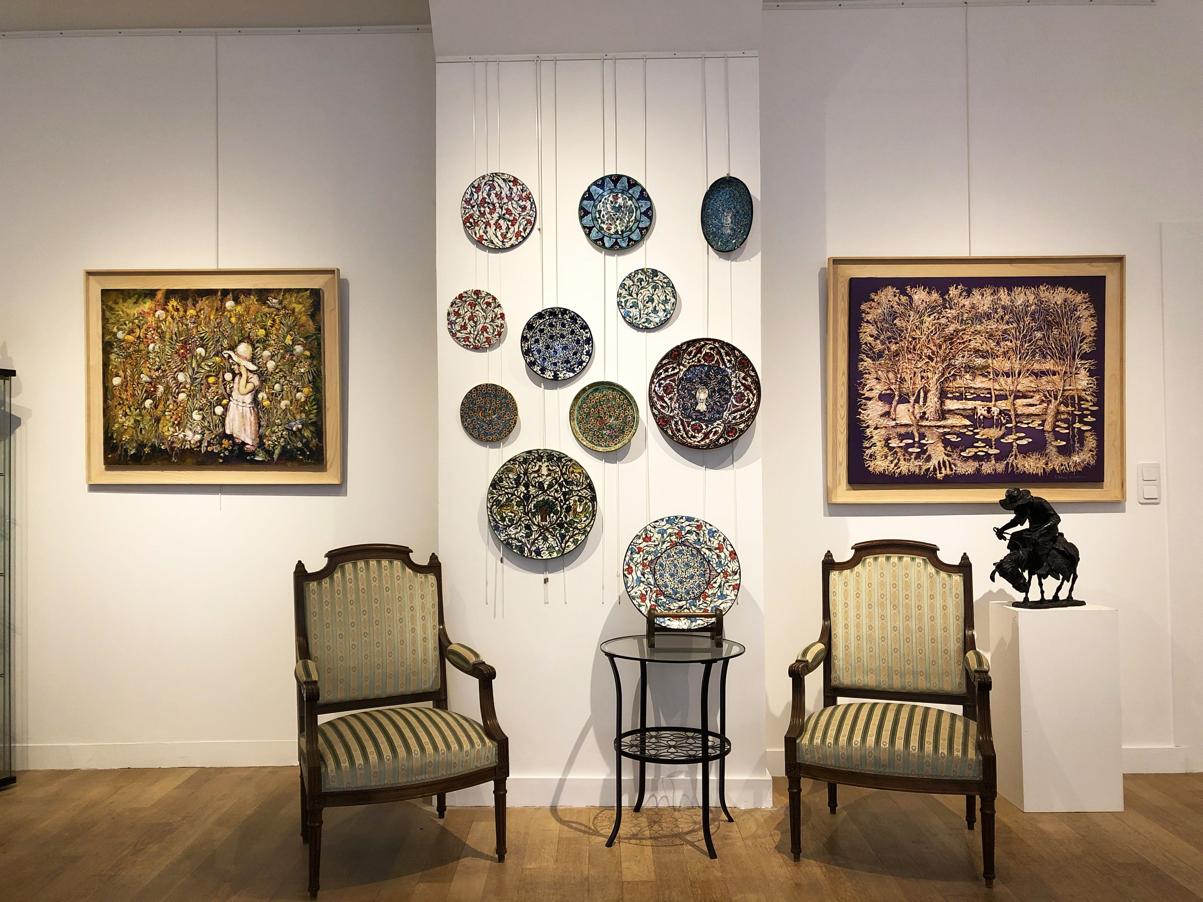 View Of Our New Space On 15 Boulevard Saint Germain Paris When Contemporaryart Meets Louis Xv Chairs For Any Question About Our Artists Gardien