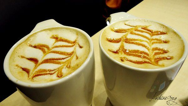 Latte Coffee Art  at Bluejay Coffee & deli  Ayala Technohub