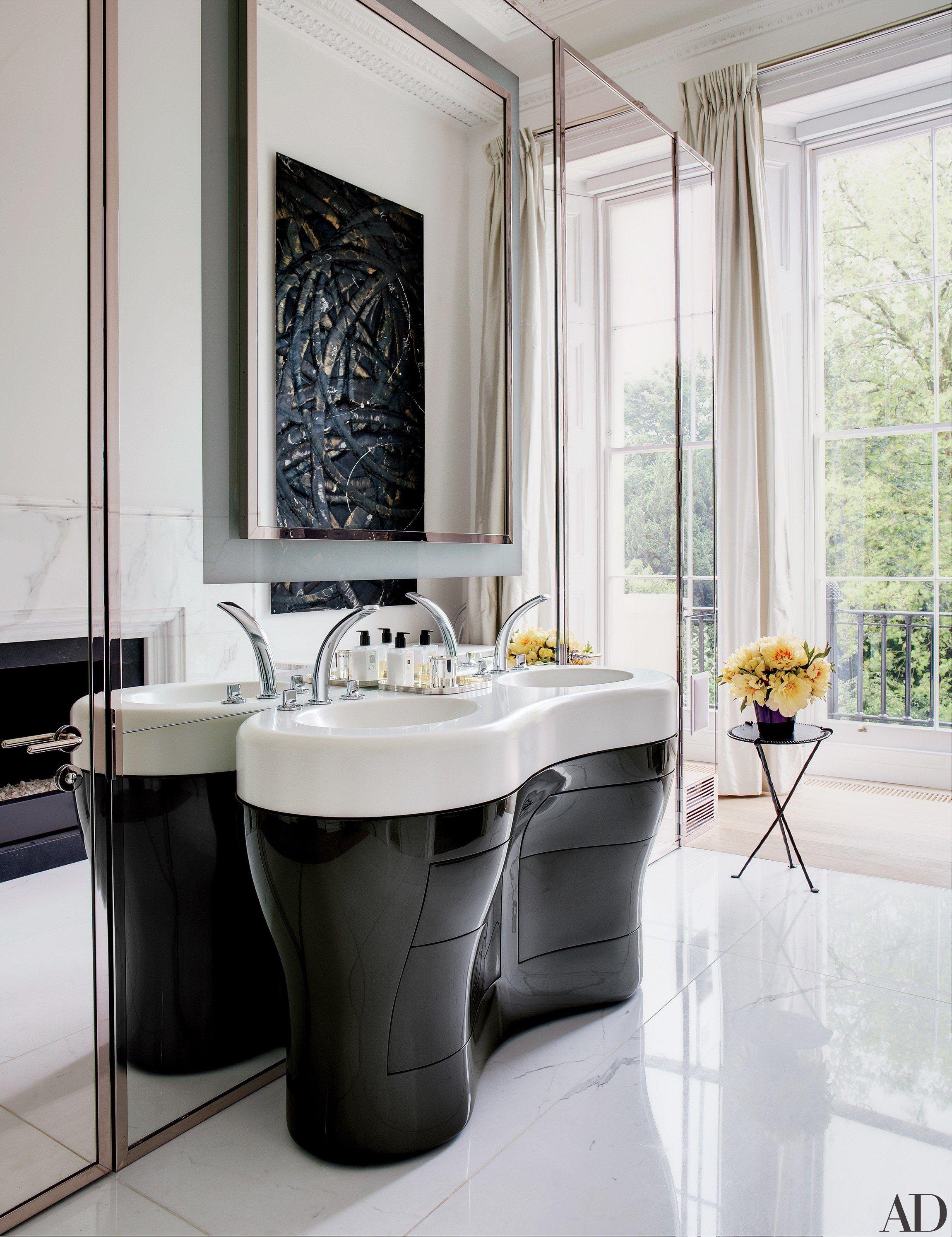 16 rooms for black and white decor inspiration interior design rh pinterest com