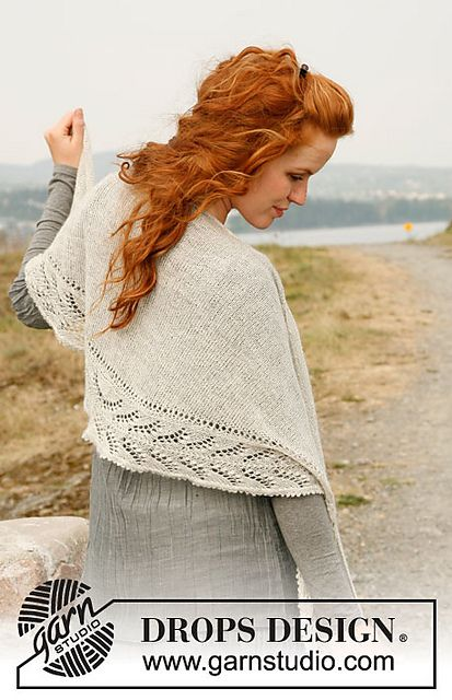 pretty shawl -free pattern