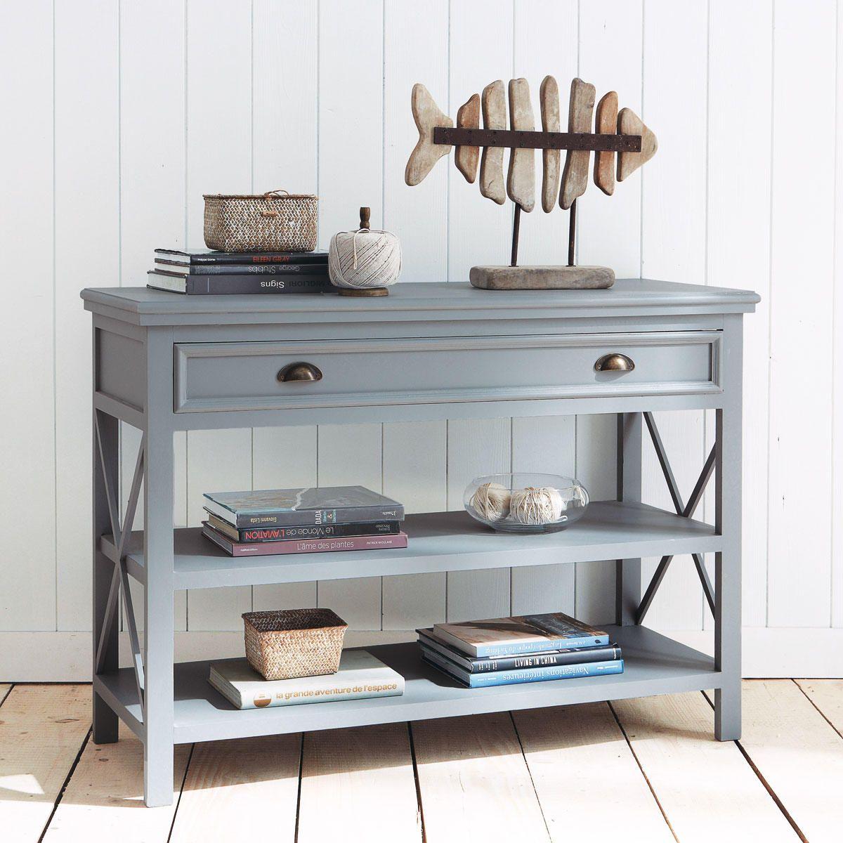 Console bois gris NEWPORT | consoles, commodes, vaisselier, buffet ...