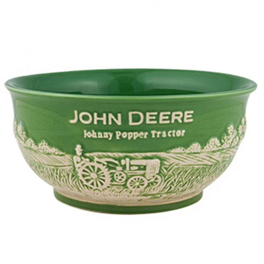 john deere small stoneware bowl - kitchen & grilling - for the