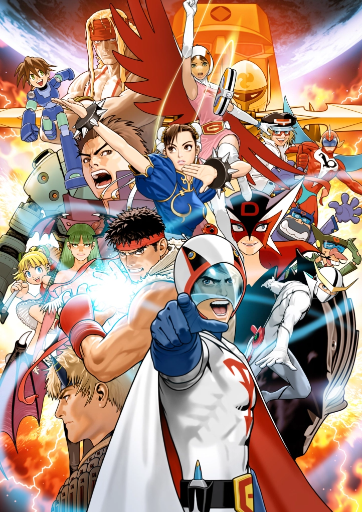 Art Tatsunoko Vs Capcom Gallery Capcom Art Capcom Vs Street Fighter Art