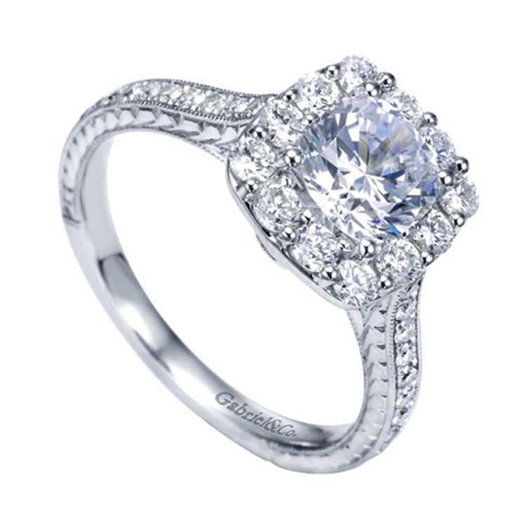 Diamond Engagement Ring  #luxury #jewelry #fashion  #style #rings #engagementrings #bridal #bride #wedding