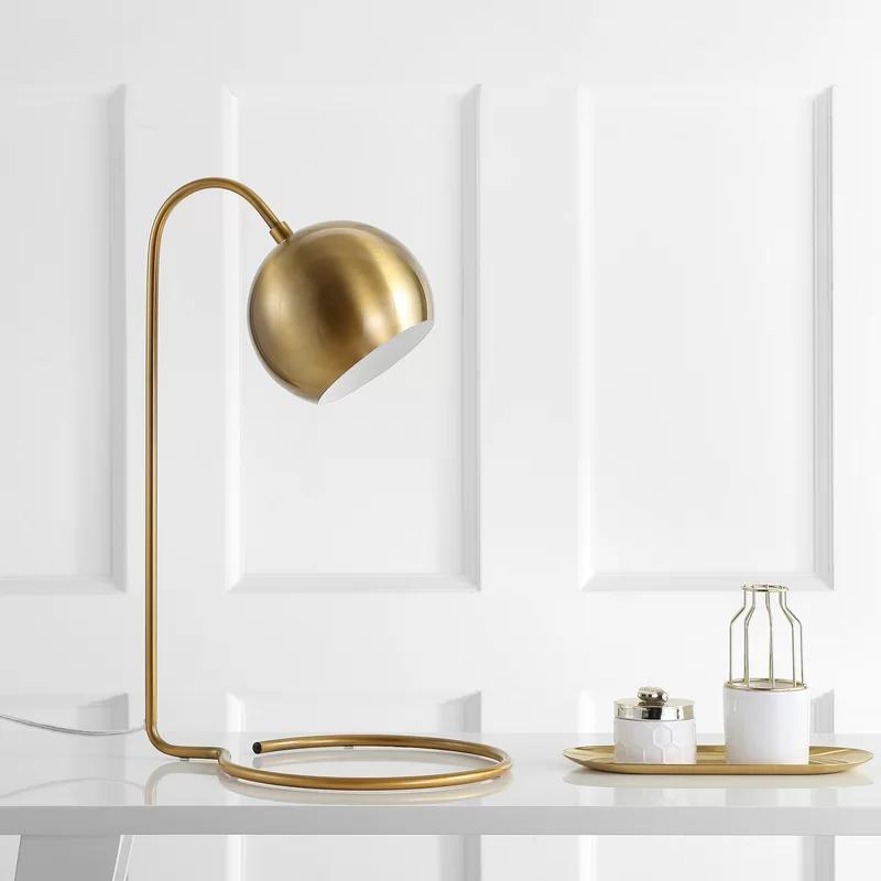 Shania 22 Desk Lamp Desk Lamp Brass Table Lamps Table Lamp