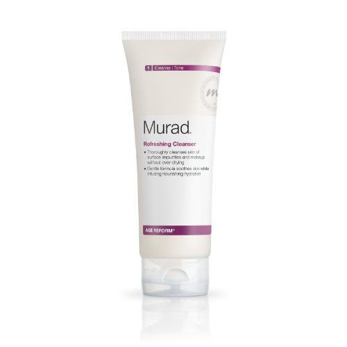 Murad Murad  Moisture Rich Cleanser, 6.75 oz Blistex Simple and Sensitive Lip Moisturizer 0.15 oz (Pack of 4)