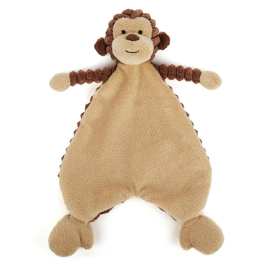 Jellycat SRS4MK Cordy Roy Baby Monkey Soother