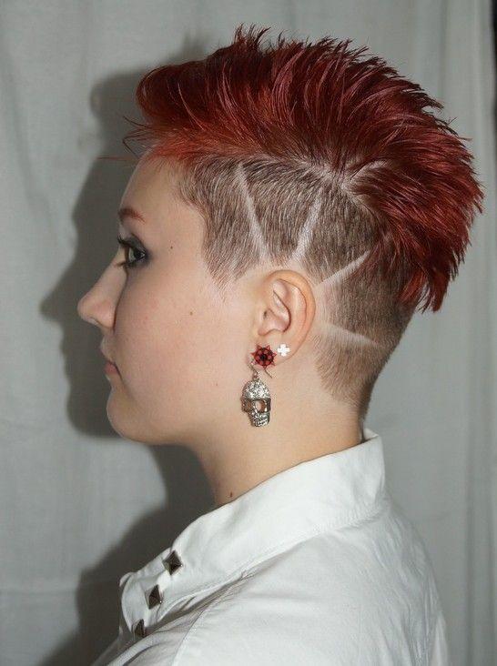 Kurze Rote Haare Punk Frisuren Kurze Rote Haare Frisuren Punk Haarschnitt