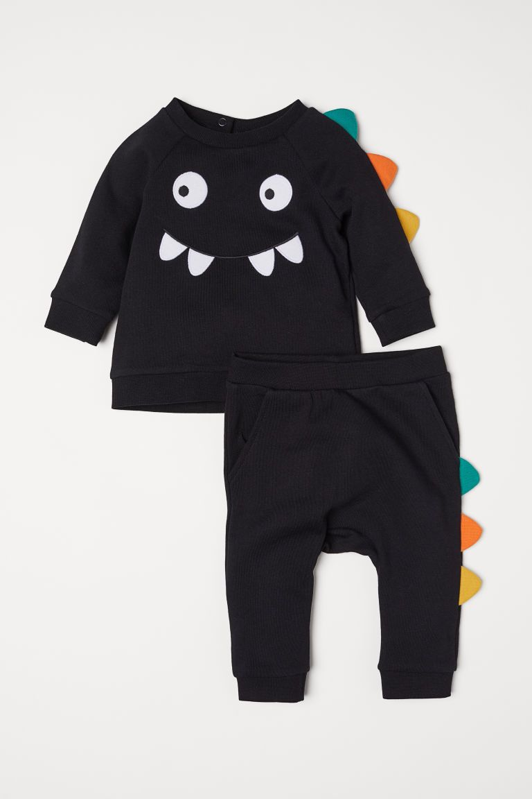 2019 2018 Autumn Baby Kids Children Boys Clothes Cartoon Monster Print Long Sleeve Pullover Sweatshirt Jumper Jersey Tops Outfit From Wonderfulss,