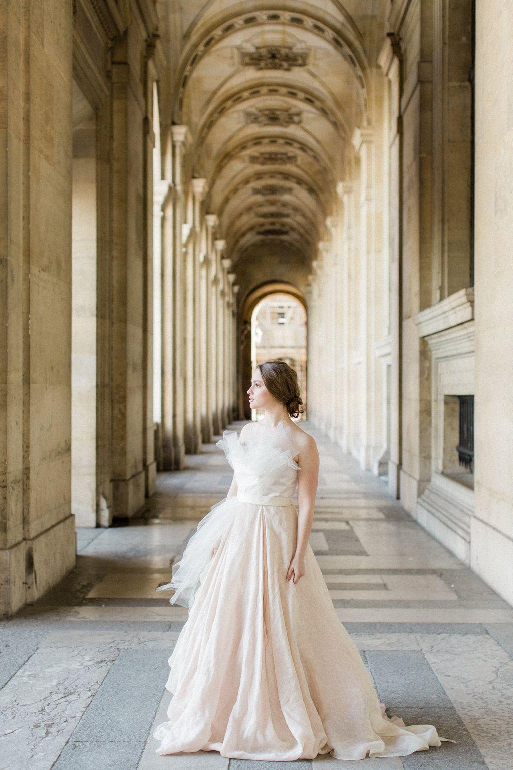 Timeless Paris Elopement by Danielle Harris Photography