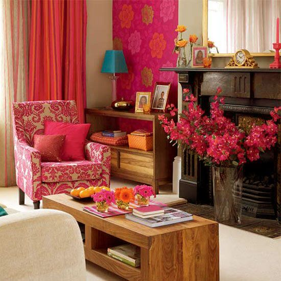 Bright Colored Room Ideas: Contemporary Modern Bright And Colorful Living Room Design