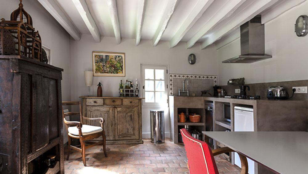 Avant apr s r nover une long re normande long re for Decoration maison normande