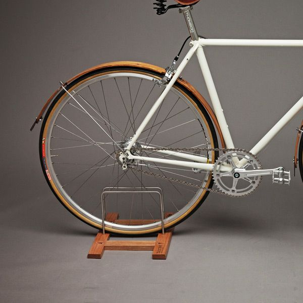 Made In Collaboration With Horse Cycles Out Of Sustainably Sourced White  Oak, This Bike Floor Stand Has Two Settings So It Can Accommodate Both  Large And ...