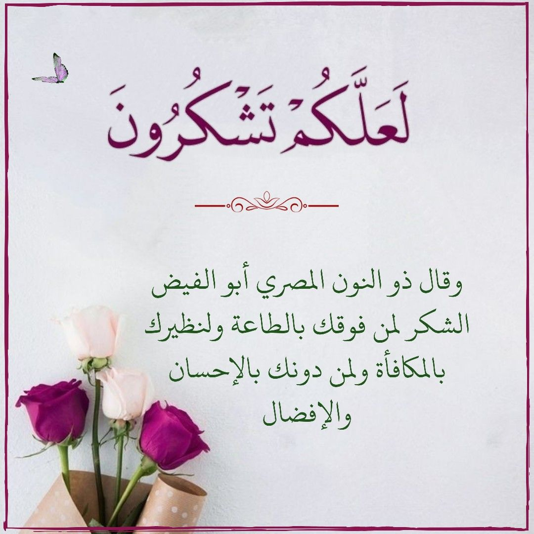 قرآن كريم آية ل ع ل ك م ت ش ك ر ون Arabic Calligraphy Calligraphy Wisdom