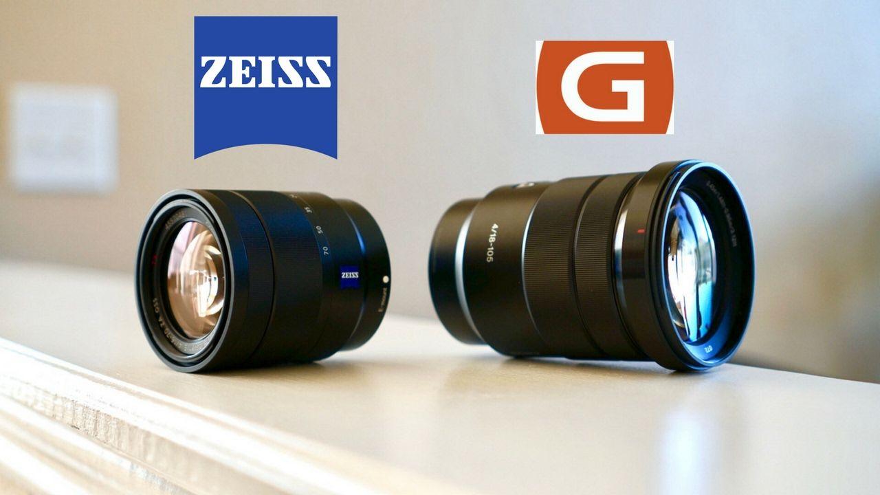 Zeiss 16 70mm Vs Sony 18 105 G Lens Comparison Https Www Camerasdirect Com Au Sony Vario Tessar Te 16 70mm F4 Za Oss E Mount Lens Zeiss Sony Lenses Sony