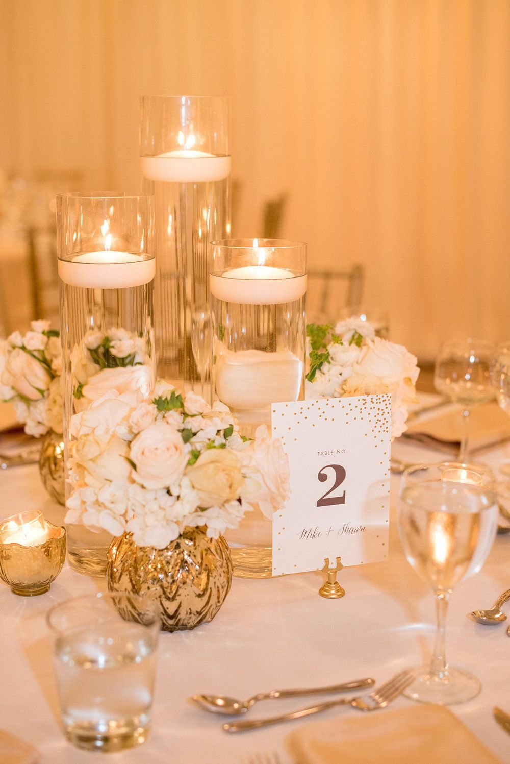 Downtown Chicago Wedding at The Rookery Candle wedding