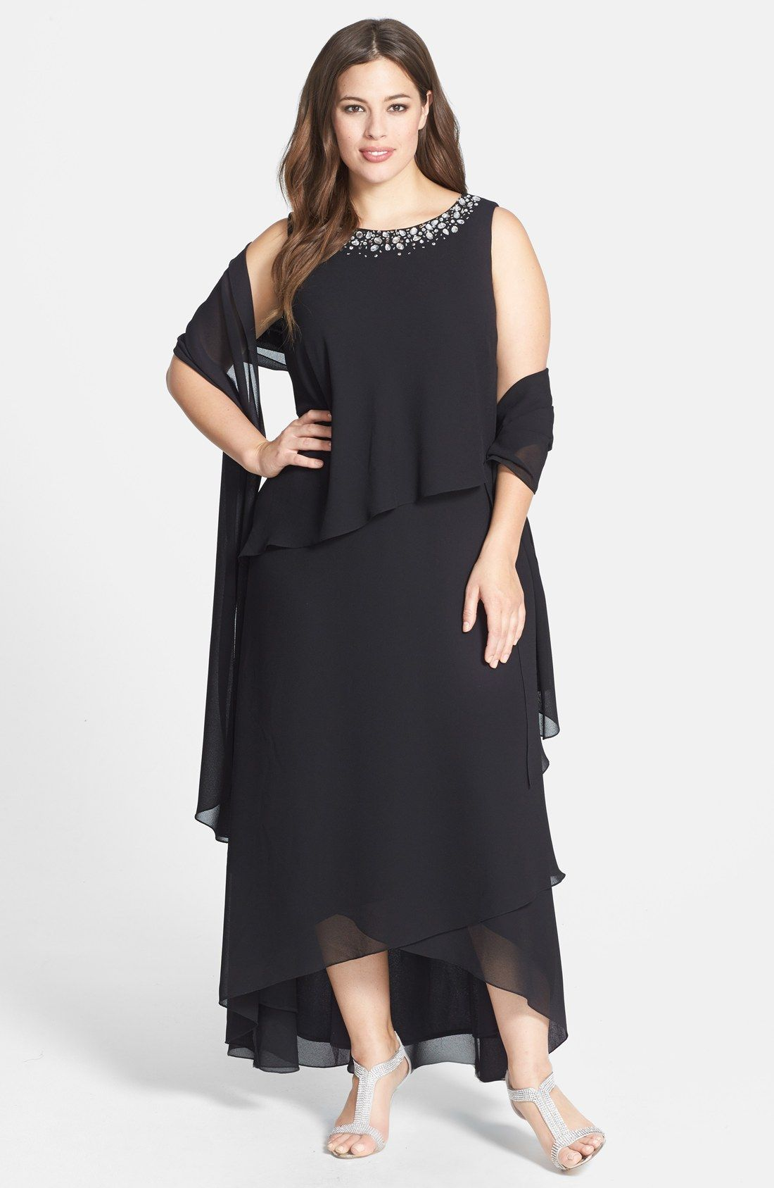 Nordstrom Womens Plus Size Evening Dresses