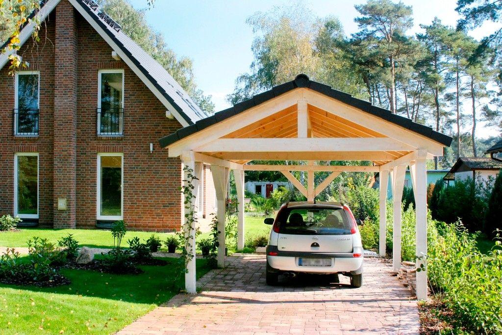 Spitzdach Carport nach Ihren wünschen Premium