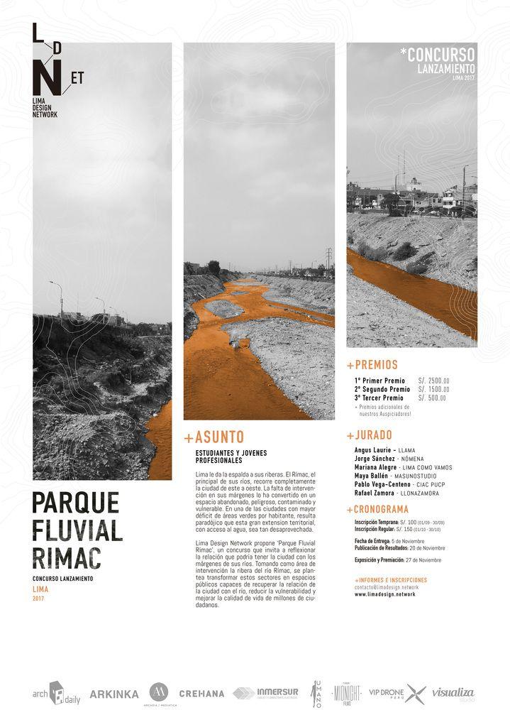 Galería de Concurso de Ideas para el Parque Fluvial Rímac: Explorando la relación entre la ciudad de Lima y los márgenes de sus ríos - 1