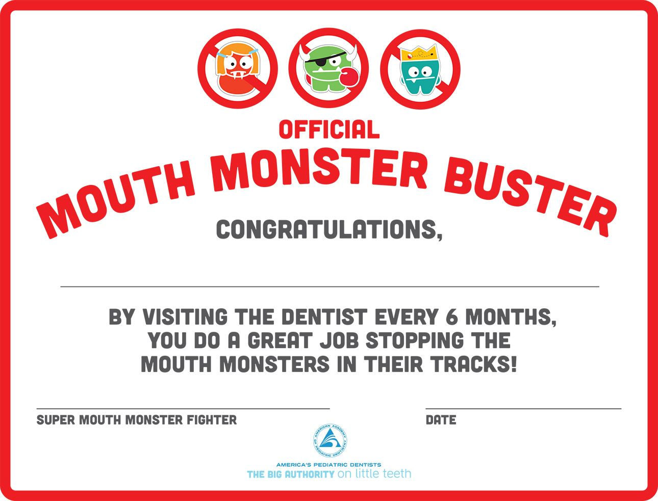 Dental checkup award certificate just for kids pinterest dental checkup award certificate xflitez Choice Image