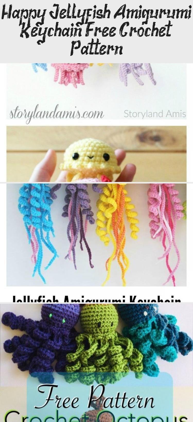 Mini Jelly Fish (Free Crochet Pattern) - InArt | 1635x750