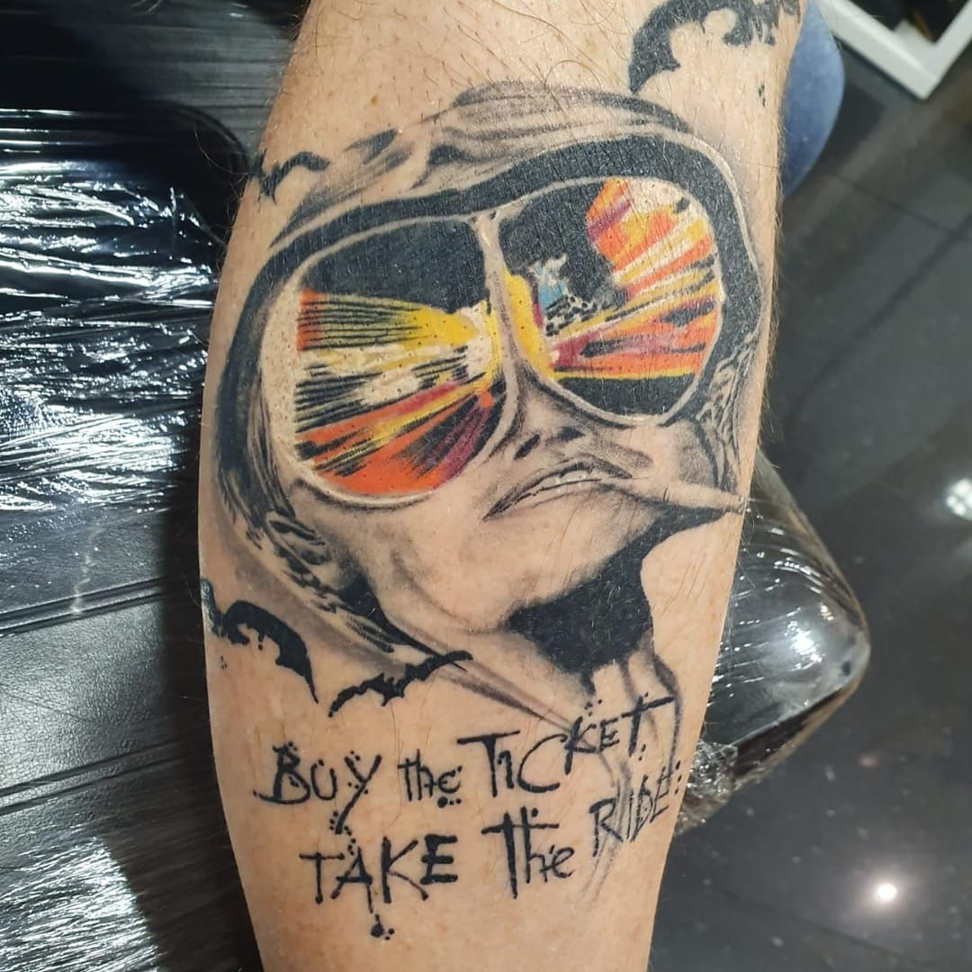 Here is another healed fear and loathing design by spideyink Space available w