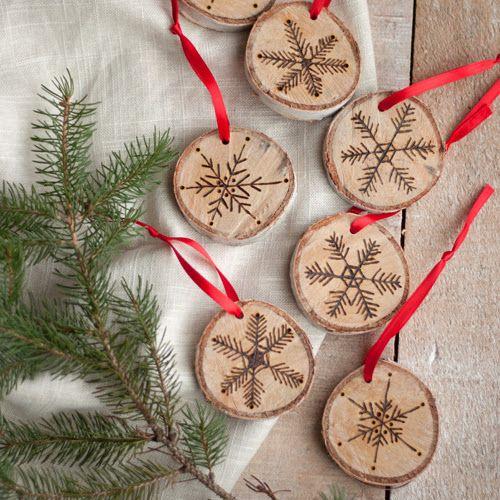 Adornos navideños hechos a mano Bricolaje y manualidades - jardines navideos