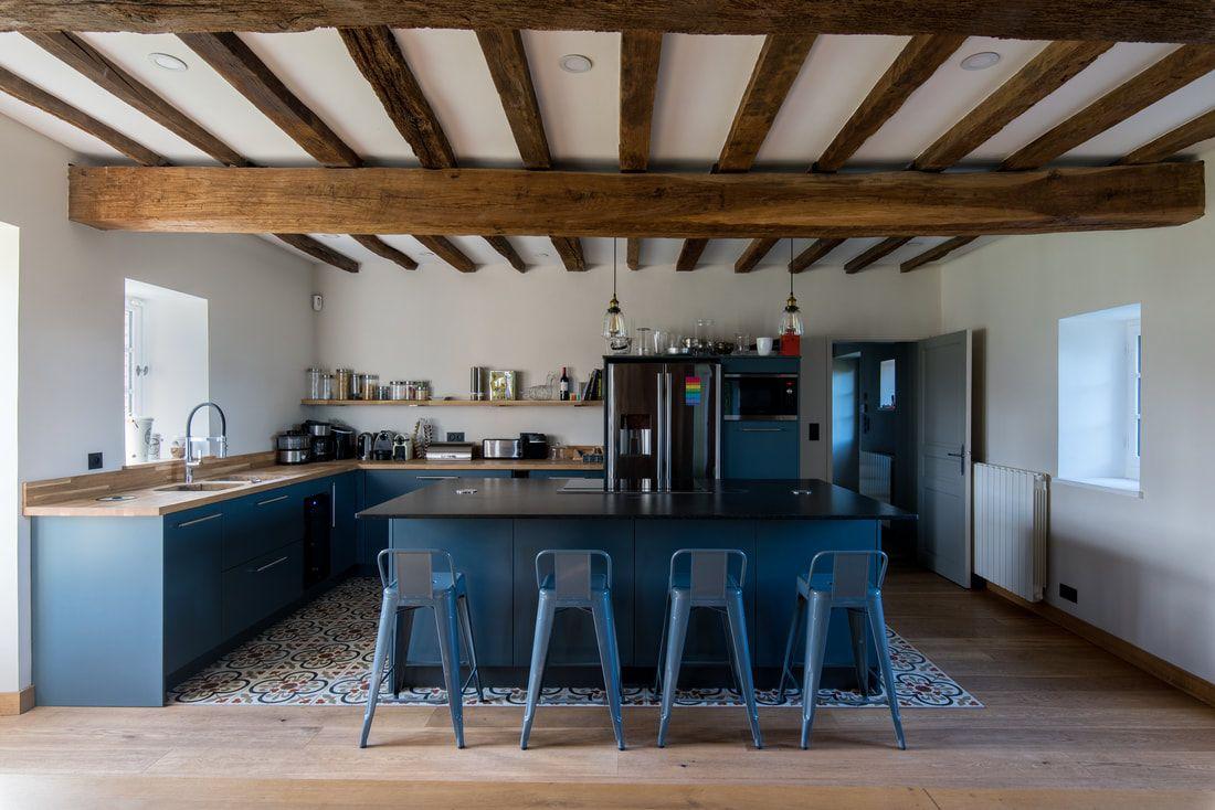 Deco Cuisine Ancienne Campagne rénovation d'une ancienne ferme dans la campagne française