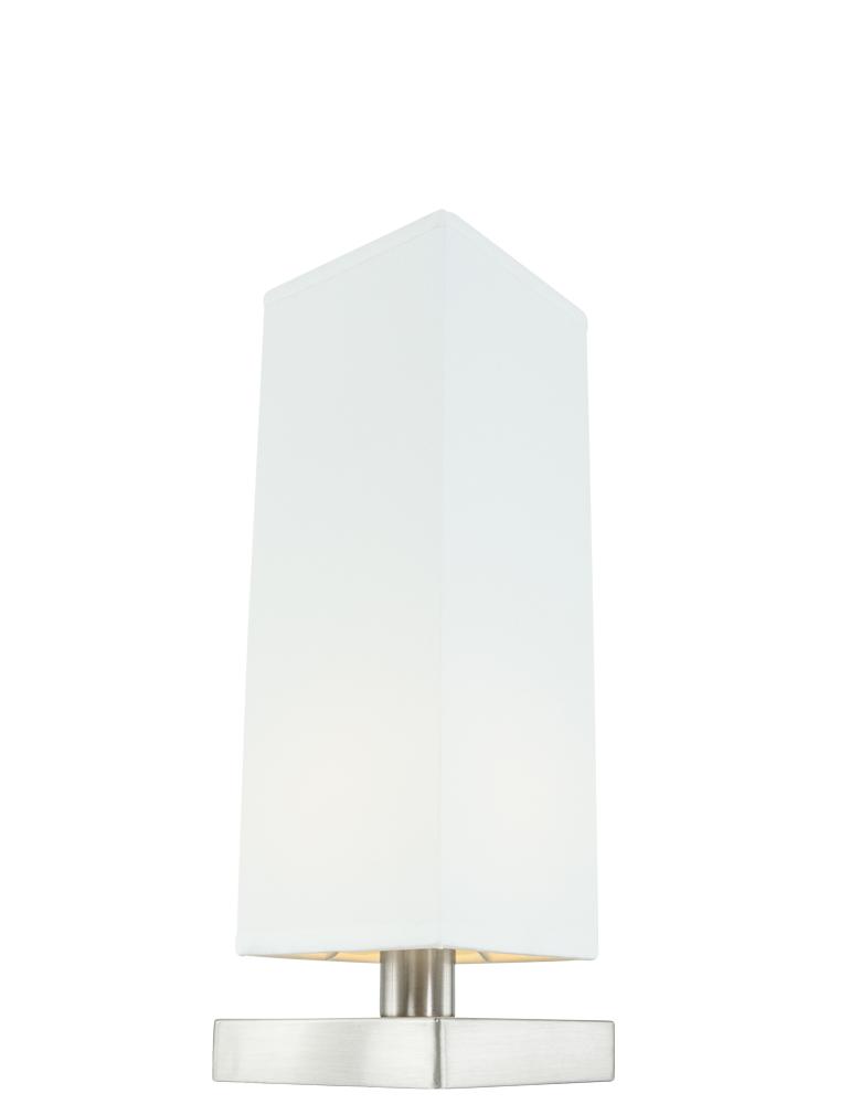 Touch Lamp Nachtkastlampje Wit Directlampen Nl Lampenkap Fitting Staal