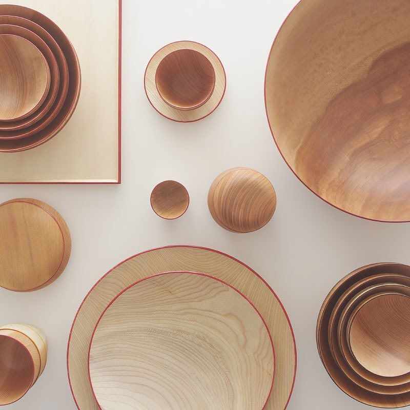 Another Beautiful Wood Lacquer Set From Kyoto Craft Design