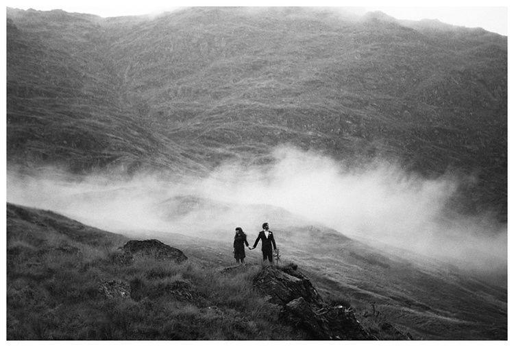 Loch Lomond - Loch Goil - Argyll Forst Park - Couple Session - Mountain - Clouds - Engagement   — Eric-Rene Penoy Wedding Photographer