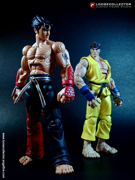 Loosecollector Custom Action Figures Official Website: Jin Kazama