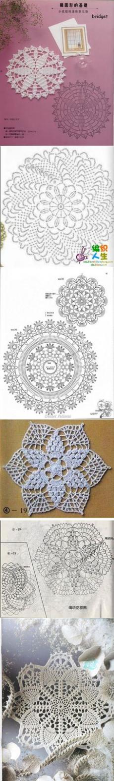 (68) Crochet doilies | Crochet: Doilies, Tablerunners and Tablecloths | Connectedness Hook Napkins, Doilies and crochet stand under the cup
