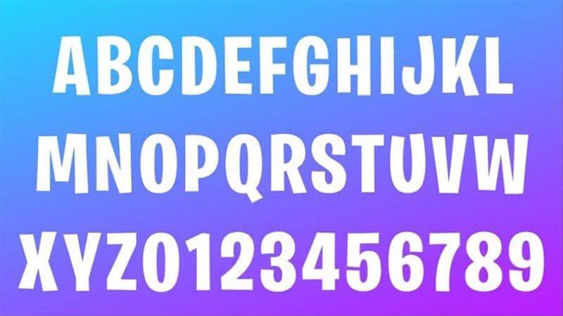 Fortnite Font Family Download Logo Fonts Download Fonts Game Font