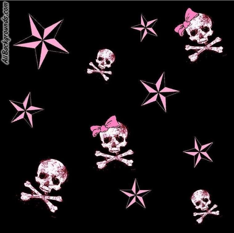 Pink Skulls Backgrounds Twitter Myspace Backgrounds Skull Wallpaper Badass Wallpaper Iphone Sugar Skull Artwork