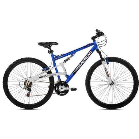 Genesis V2100 Men S Bike Is A Full Suspension Mountain Bike