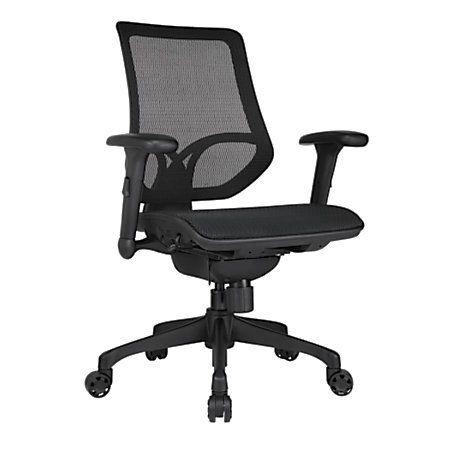 Workpro 1000 Series Mid Back Mesh Task Chair Black Stuhle Burostuhl Ergonomisch Burostuhl