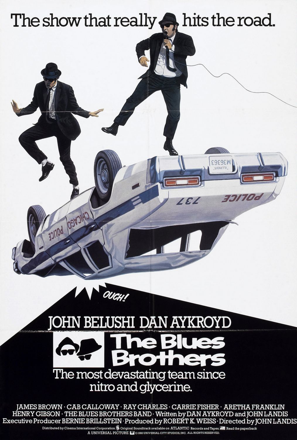 The Blues Brothers Extra Large Movie Poster Image Internet Movie Poster Awards Gallery Blues Brothers Blues Brothers 1980 Blues