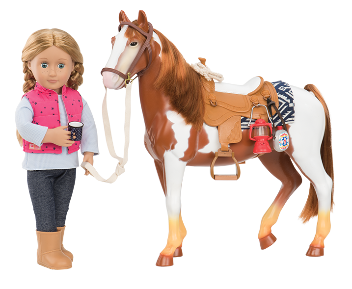Appaloosa Horse Our Generation Dolls 4 My Own Wish