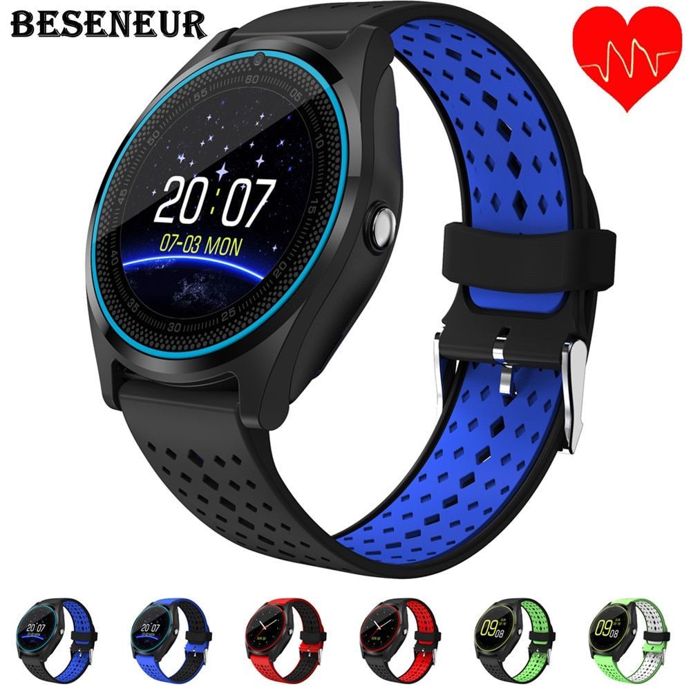 Beseneur Bluetooth Smart Watch V9 with Camera Smartwatch