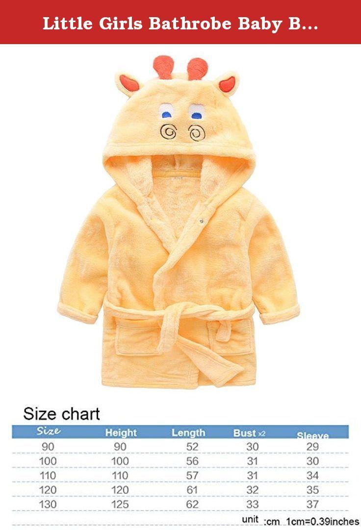 995fea40e5 Little Girls Bathrobe Baby Boy Kids Animal Hood Coral Velvet Pajamas Robe