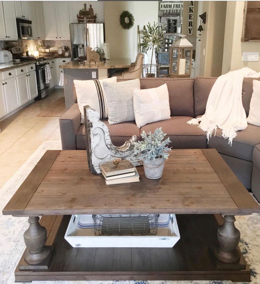 36 great ideas for decorating farmhouse coffee table