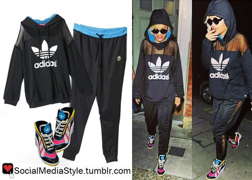 Buy Rita Ora's Mesh Panel Hoodie and Pants, here!