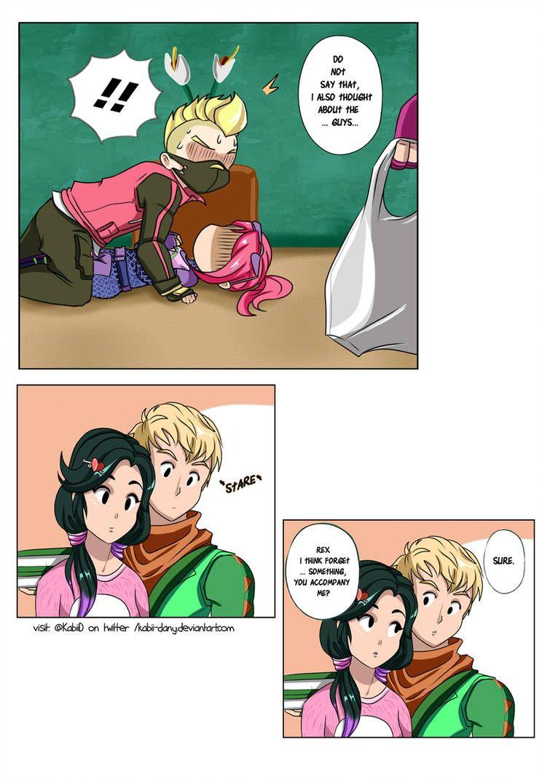 Fortnite Short Comic Drift X Brite Page 3 By Kabii