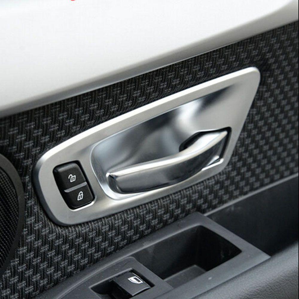 Inside Door Handle Bow Cup Wrist Sticker Cover Trim Frame For Bmw 218i 228i  Tourer F30