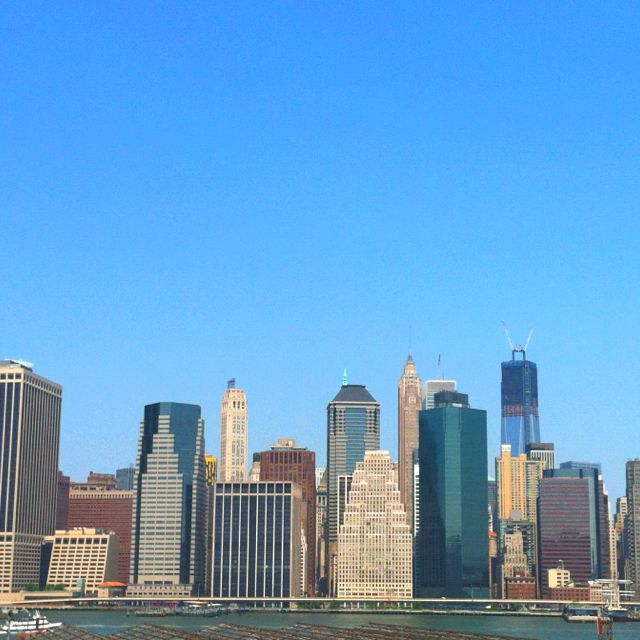 Downtown NYC from Brooklyn
